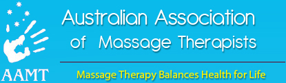 Member of the Australian Association of Massage Therapists